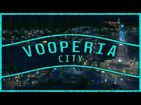Vooperia City #3 | Lady Liberty Park! | Cities Skylines