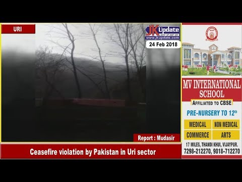 Ceasefire violation by Pakistan in Uri sector