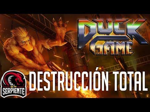 DESTRUCCION TOTAL | DUCK GAME #Rageduels Vs None y Zellen