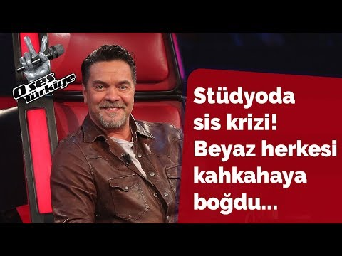 The fog crisis in the studio! | The Voice of Turkey 2018
