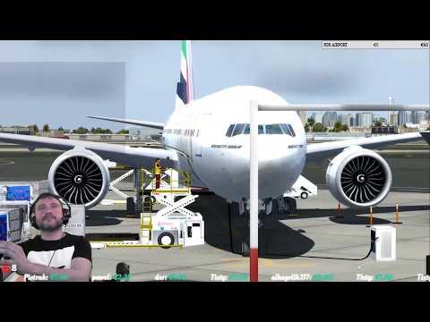 [P3Dv4.1]   Dubai Airport (OMDB) → Krakow Airport (EPKK)  VATSIM