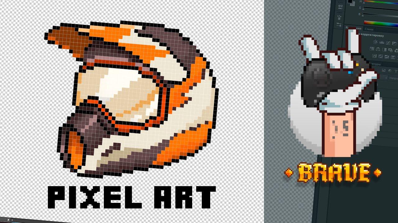 Рисуем пиксельарт || Пиксельарт || Картинки (рисунки) по ...