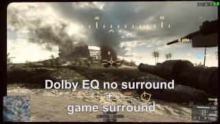 aSUS Xonar Phoebus sound test in Battlefield 4