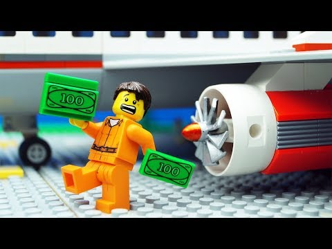 Lego Plane Money Fail - Airport