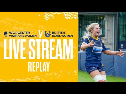 Worcester Warriors Women vs Bristol Bears Women   Full game live stream replay
