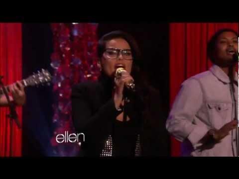 K'naan  feat. Nelly Furtado (Live The Ellen DeGeneres Show 2012.03.22)