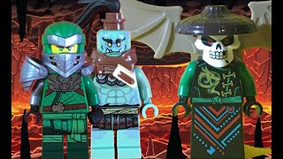Lego Ninjago: Lloyd and Murt VS Skull sorcerer and Skeletons