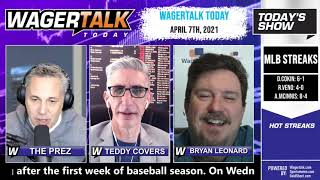Daily Free Sports Picks | NBA Picks and NHL Betting Previews on WagerTalk Today | April 7