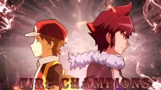 Red & Alan The Fire Champions - Pokemon AMV