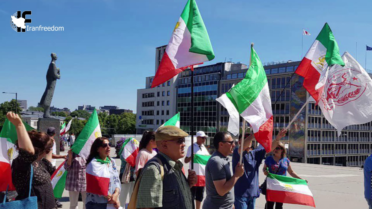 Demonstrations of Iranian compatriots in European countries ​