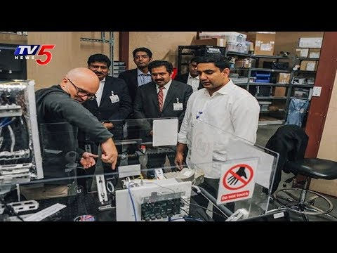 Google X Ready to Set up Development Centre in AP | Nara Lokesh US Tour | TV5 News