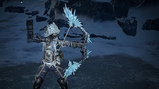 Path of Exile: Arctic Crystal Bow
