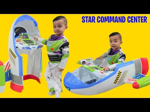 Buzz Lightyear Star Command Center CKN Toys