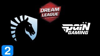 Liquid vs paiN Gaming Game 2 DreamLeague season 9 Highlights Dota 2