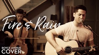 Fire And Rain - James Taylor (Boyce Avenue acoustic cover) on Apple & Spotify