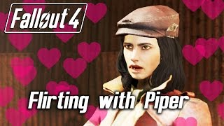 Fallout 4 - Second Awkward Flirt with Piper