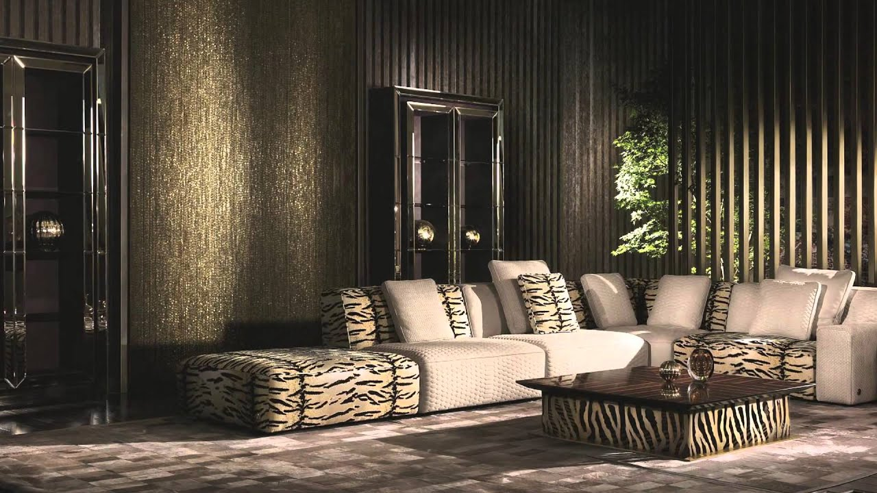 Roberto Cavalli Home Interiors 2016 Collection By Casarredo   YouTube