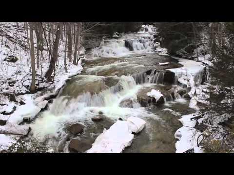 Stockbridge Falls - Dec. 29, 2013