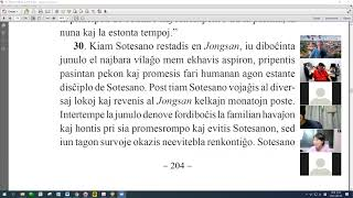 30 | La Sotesana Instruo de Ŭonbulismo | 에스페란토 원불교 대종경 공부 (zoom)