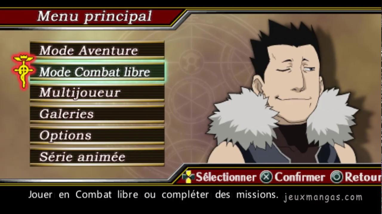 Fullmetal Alchemist Brotherhood PSP Gameplay - YouTube