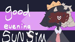 [ . GOOD EVENING SUN SIM - ranboo . ] ( FLASH WARNING )