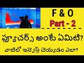 What is Futures in Stock Market with Examples | Futures in Telugu  Stock Market in Telugu