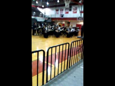 Dodge County high school concert band