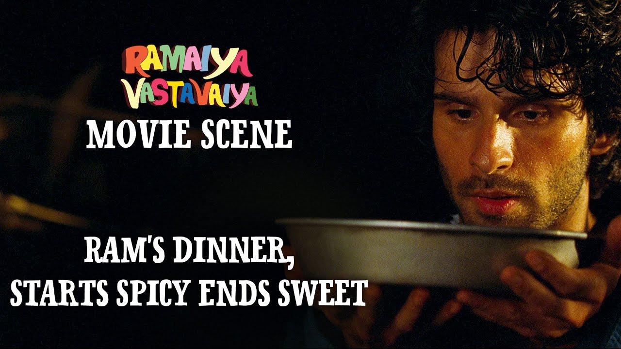 Download Ram's Dinner, Starts Spicy Ends Sweet - Ramaiya Vastavaiya Scene | Girish Kumar, Shruti Haasan