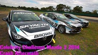 IRL Video - F1 Albert Park Celebrity Challenge 2014 Crash Aftermath Photo And Video //Jewskii