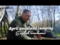 Wild Woodland camping, oex phoxx one man tent .