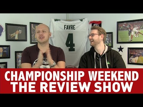 CHAMPIONSHIP WEEKEND REVIEW SHOW - PATRIOTS DEFEAT THE JAGUARS AND EAGLES BLOW OUT THE VIKINGS!