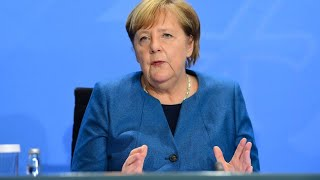"""Lockdown light"" bis Ende November: Merkel fordert ""nationale Kraftanstrengung"""