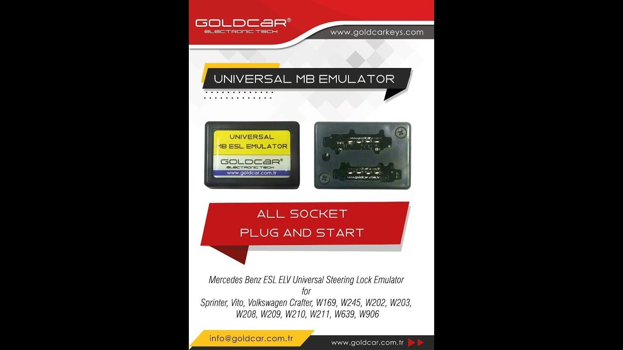 W210 W202 ESL Emulator Mercedes Benz EIS MB W639 W209 W203 W211 W906 W208