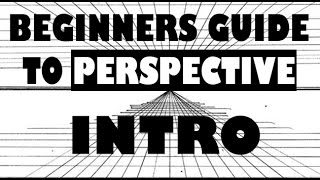 Beginners Guide to Perspective | Intro -Easy Things to Draw
