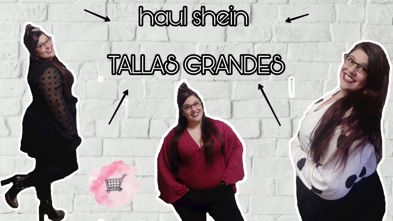 Try On Shein Haul Tallas Grandes Youtube