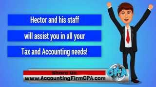 Federal Income Tax Filing, Your Taxes Done by a CPA Certified Public Accountant