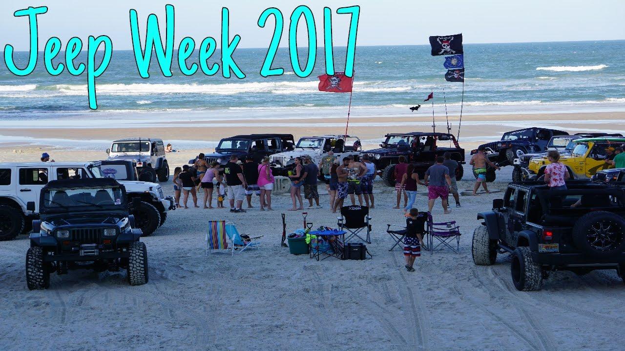 Jeep Week 2017 Daytona Beach Pt 1
