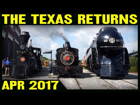 The Texas Returns: 100 Years of Steam in Spencer