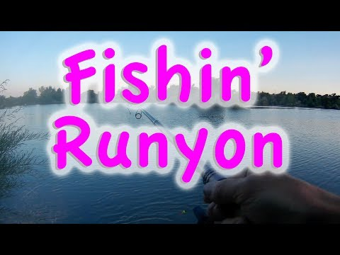 Fishing Runyon Lake Pueblo Colorado