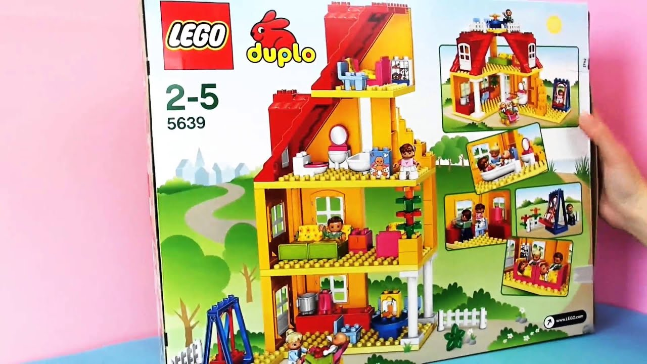 duplo ville familienhaus lego vorstellung youtube. Black Bedroom Furniture Sets. Home Design Ideas