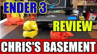 Creality Ender 3 3D Printer - Review - Chris's Basement