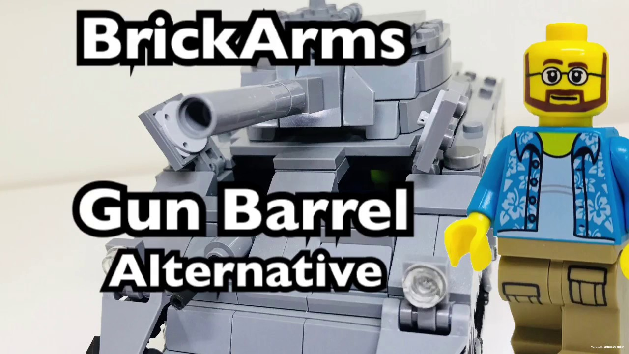 BrickMania/BrickArms Gun Barrel Alternative