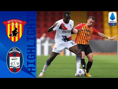 Benevento Crotone Goals And Highlights
