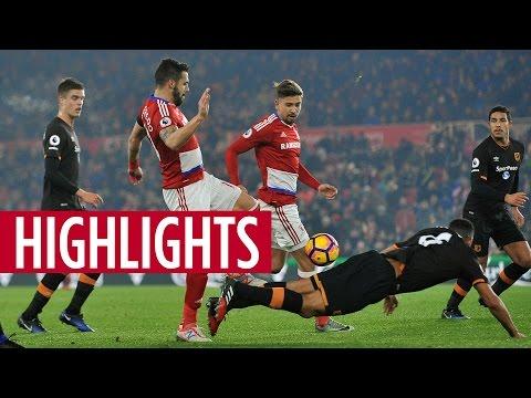 MATCH HIGHLIGHTS | Boro v Hull City, December 2016