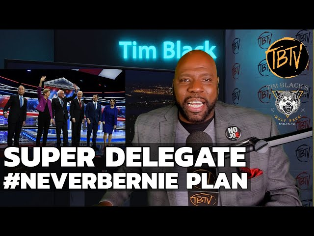 NBC Nevada Debate Reveals Super Delegate #NeverBernie Plan | Tim Black