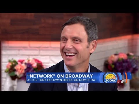 Tony Goldwyn about his new , Kerry and Scandal cast on