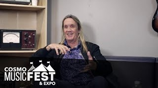 Nicko McBrain talks about why his 'galloping' drumming works so well with Iron Maiden - Cosmo Music