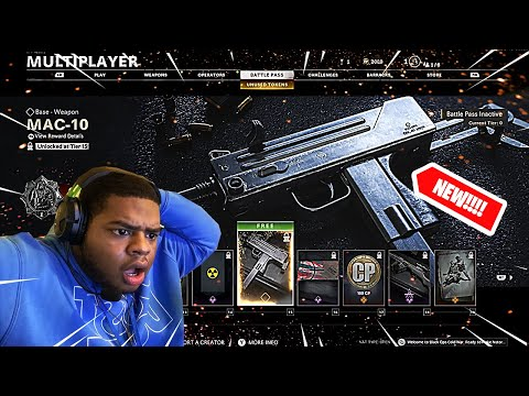 (THE MAC 10 IS THE NEW MP5!!!) 😍🔥👌🏾 MASSIVE BLACK OPS COLD WAR UPDATE!!!!!! |
