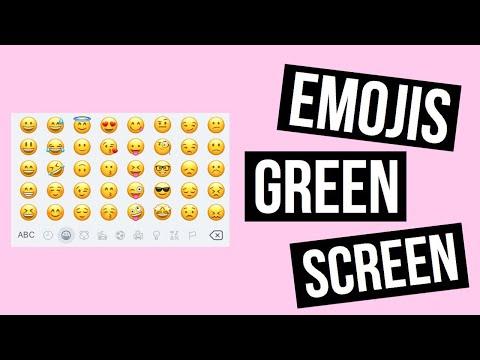 ANIMATED EMOJI   GREEN SCREEN #1