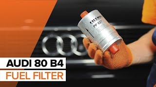 Poly v-belt installation AUDI 80: video manual